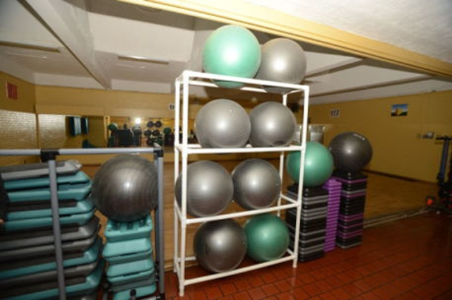 Exercise room Pelham Fritz Recreation Center Marcus Garvey Park. Photo courtesy Malcolm Pinckney