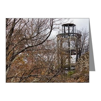 Harlem Fire Watchtower Note Cards Photo Cynthia M. Reed