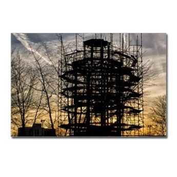 Sunset over the Fire Watchtower and the Acroplis Postcards