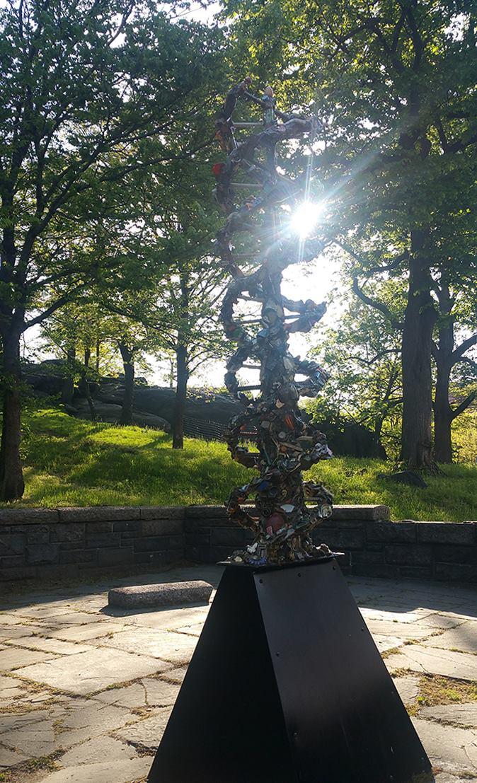 The DNA Totem Sunrise