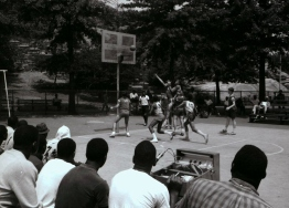 40024_4_M058_07-23-1966_Rucker League Baskerball Game, Marcus Garvey Park_Daniel McPartlin